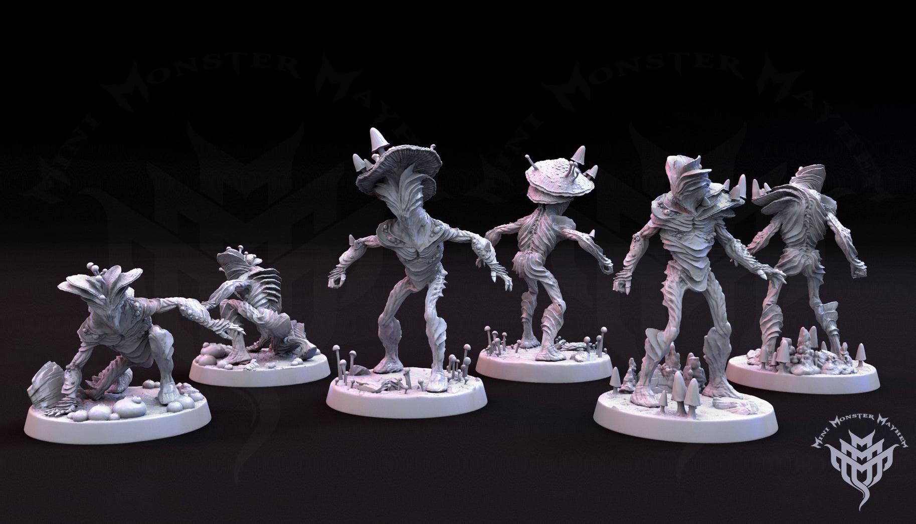 Mini Monster mayhem prints with AmeraLabs