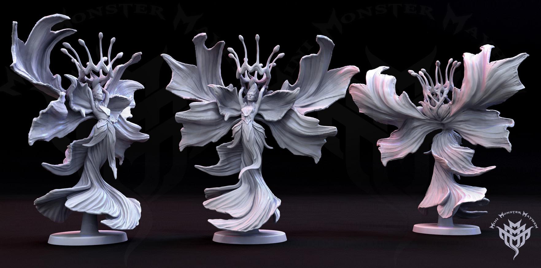 Mini Monster mayhem prints with AMD-3 resin