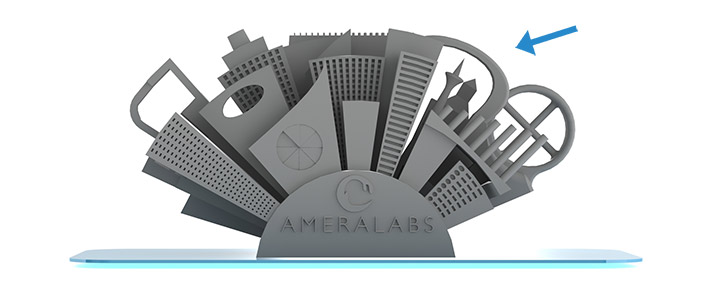 3D printer calibration part Antenna Tower