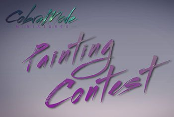 AmeraLabs Cobramode patreon collaboration painting competition announcement blog thumb