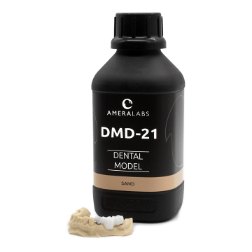 AmeraLabs DMD-21 Dental model 3D printing resin MSLA